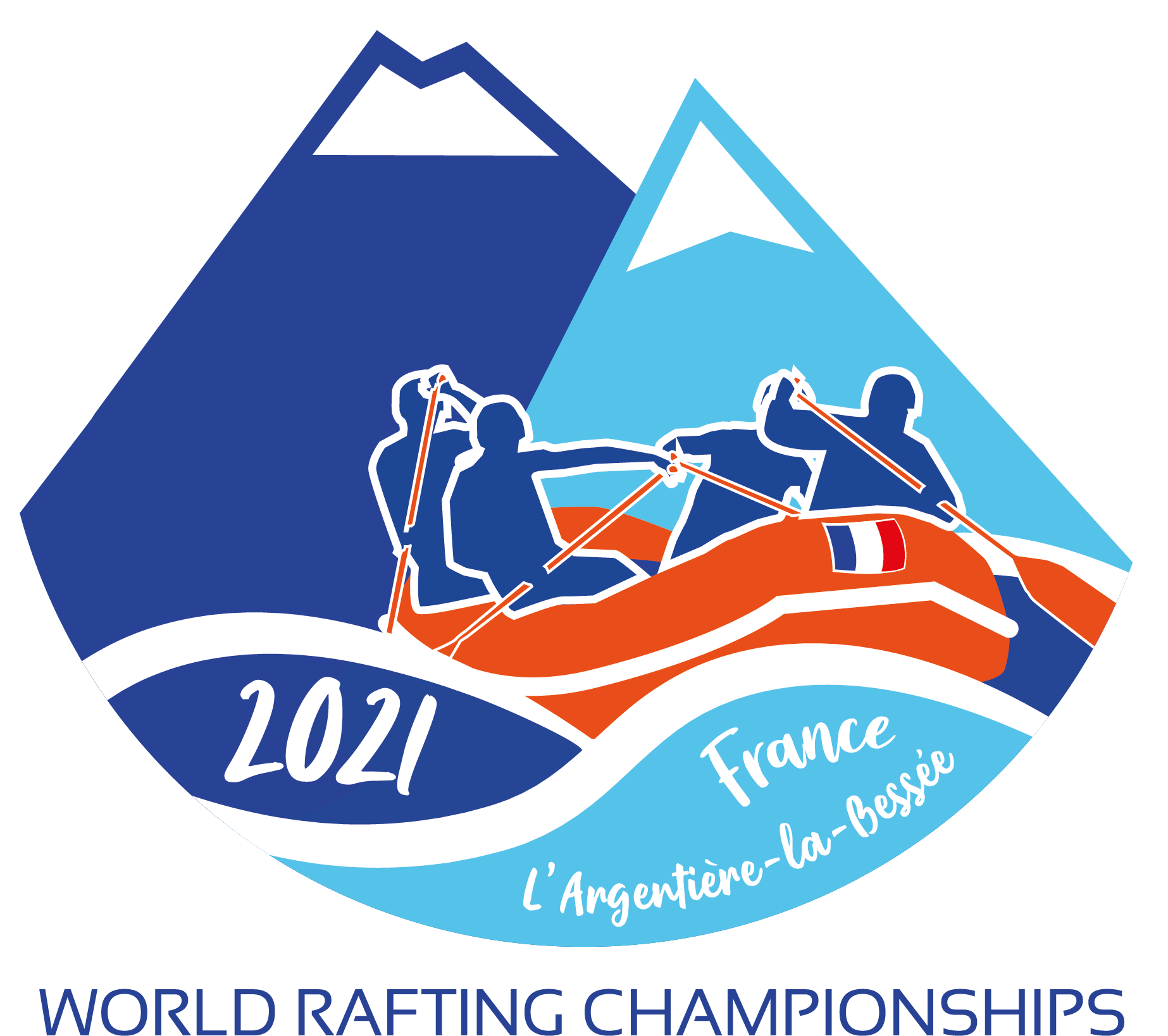 LOGO HD World Rafting 2021 red