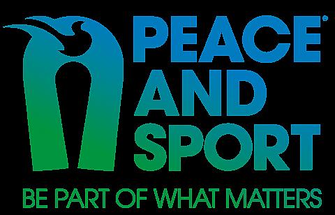 Logo Peace and Sport EN transparent